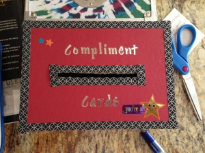 compliment cards box